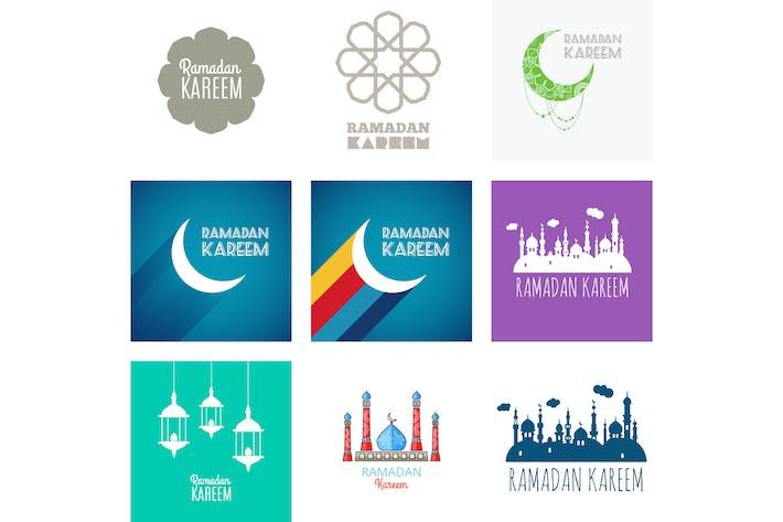 Thumbnail for Рамадан Карим, поздравительные открытки