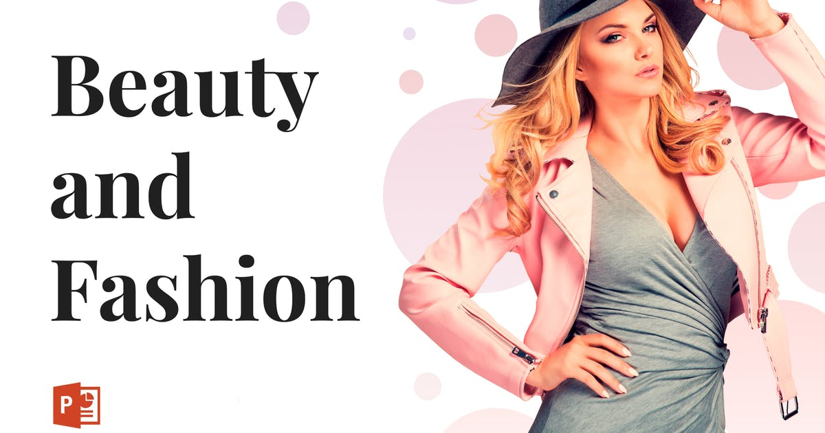 Download Beauty and Fashion PowerPoint Template by Site2max