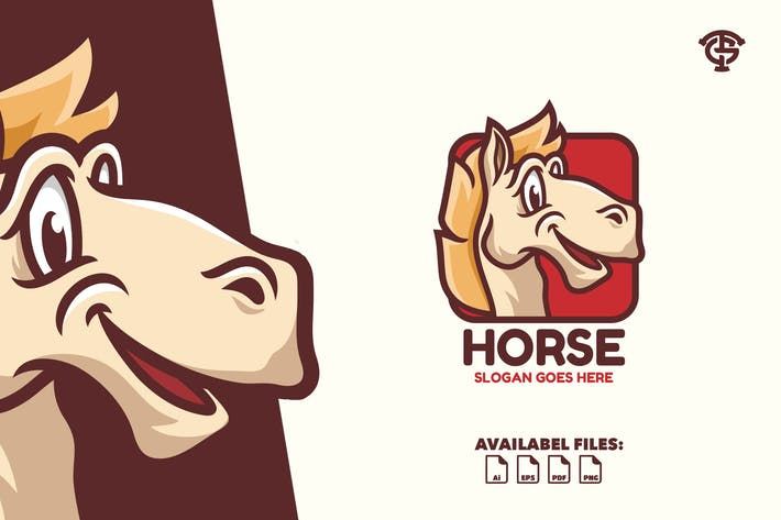 Thumbnail for Horse - Logo Mascot
