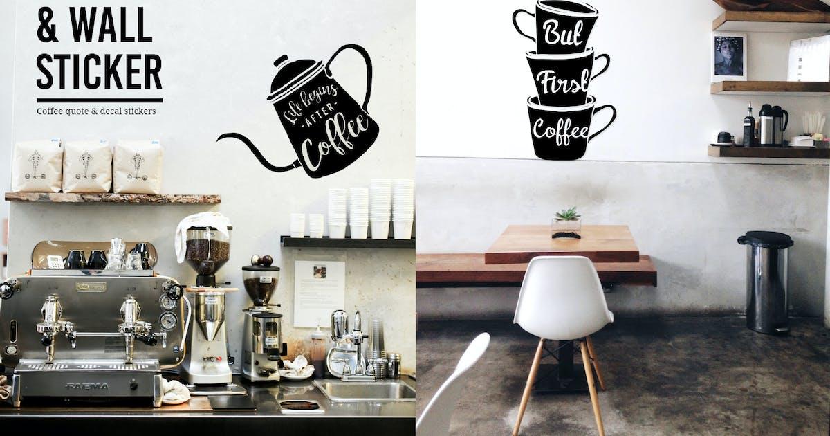 Download Coffee Window & Wall Sticker by BNIMIT