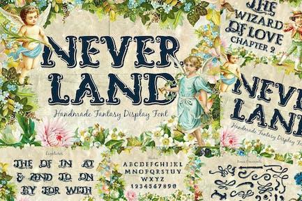 Neverland Fantasy Display Serif Vintage Font