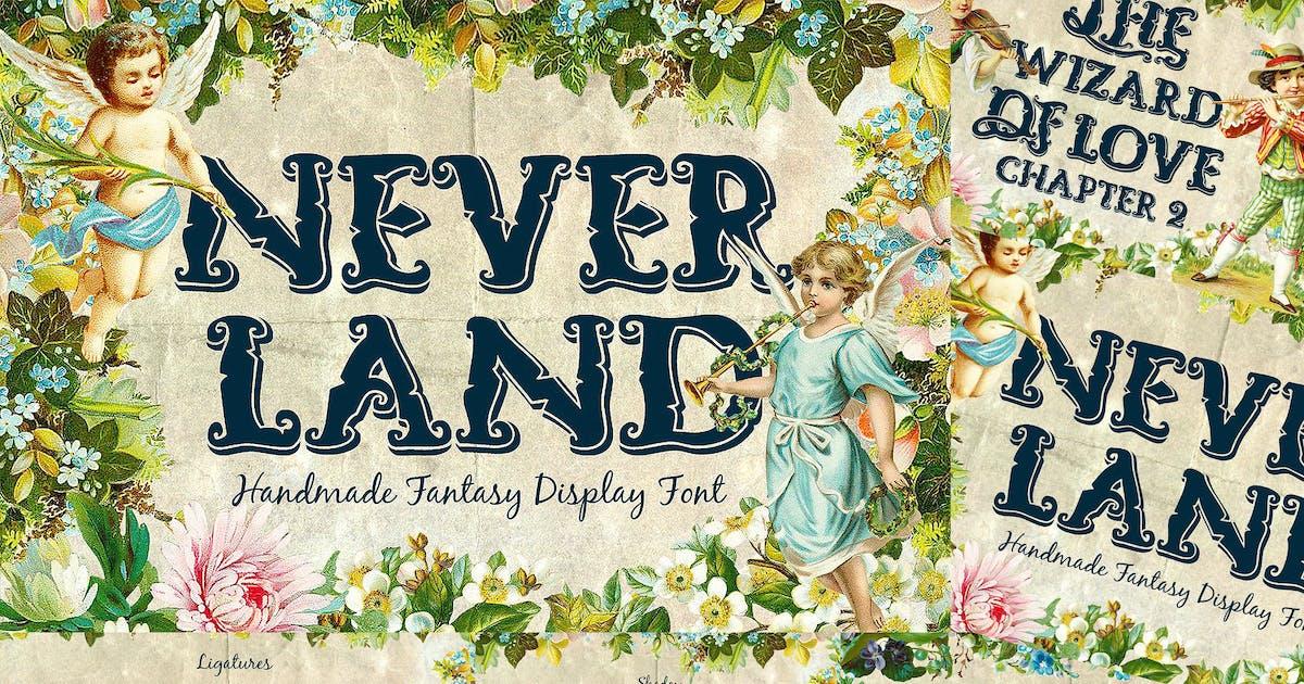 Download Neverland Fantasy Display Serif Vintage Font by TSVcreative