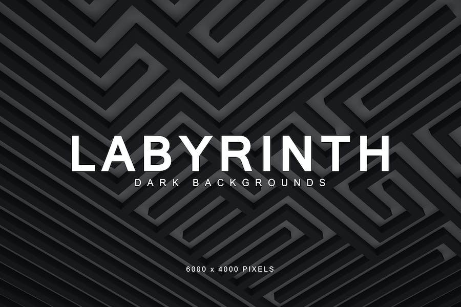 Dark Labyrinth Backgrounds