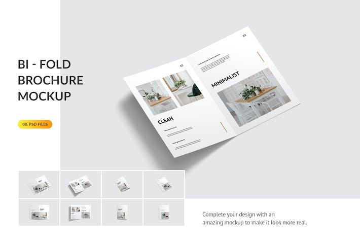 Thumbnail for Bifold Broschüre Mockup