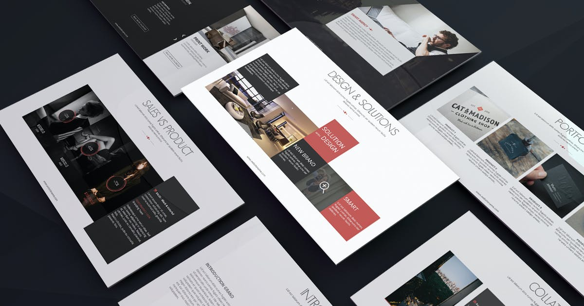 Grand Presentation Template by Unknow