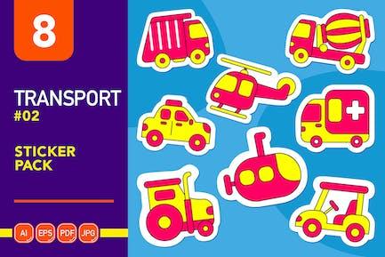 Transport #02 Sticker Pack