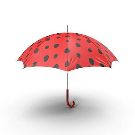 Marienkäfer Regenschirm