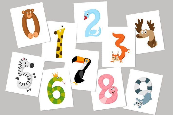 Thumbnail for Animal Numbers