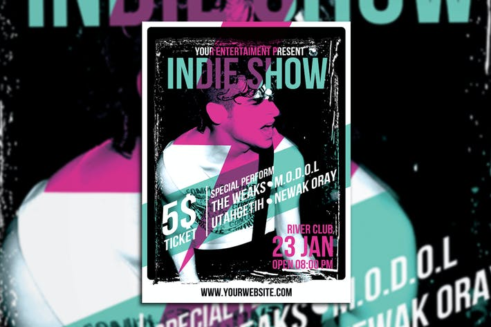 Thumbnail for Indie Show Poster/Flyer