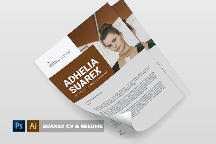 Thumbnail for Suarex | CV & Resume