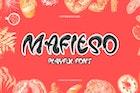Mafieso - Playful Font YR