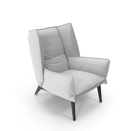 Armchair 4 White