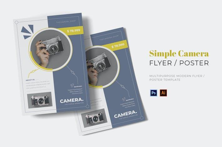 Thumbnail for Einfaches Kamera-Flyer