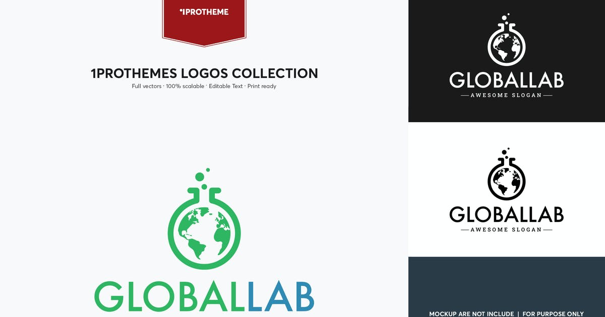 Download Global Lab Logo Template by 1protheme