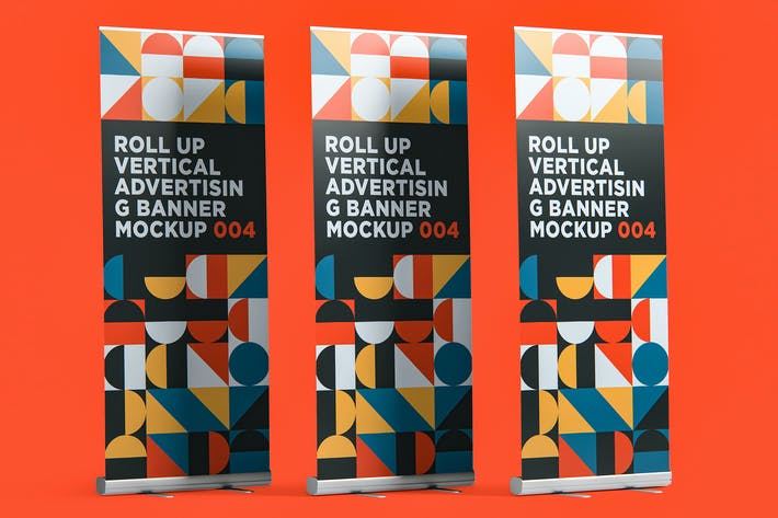 Thumbnail for Roll Up Banner Mockup 004