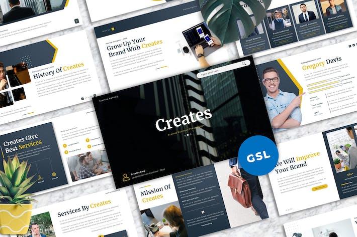 Creates - Business Googleslide Template