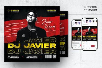 DJ Event Party Flyer