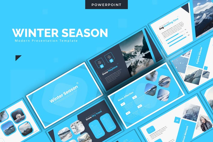 Thumbnail for Winter - Powerpoint Template