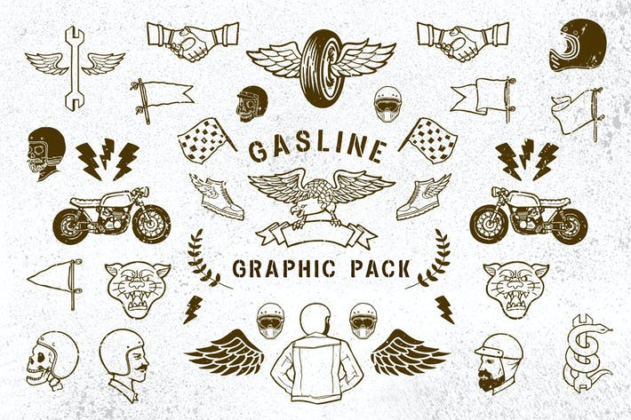 Thumbnail for Gasline Graphic Pack