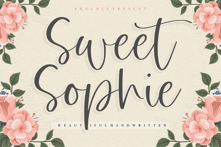 Thumbnail for Sweet Sophie Script Fuente YH