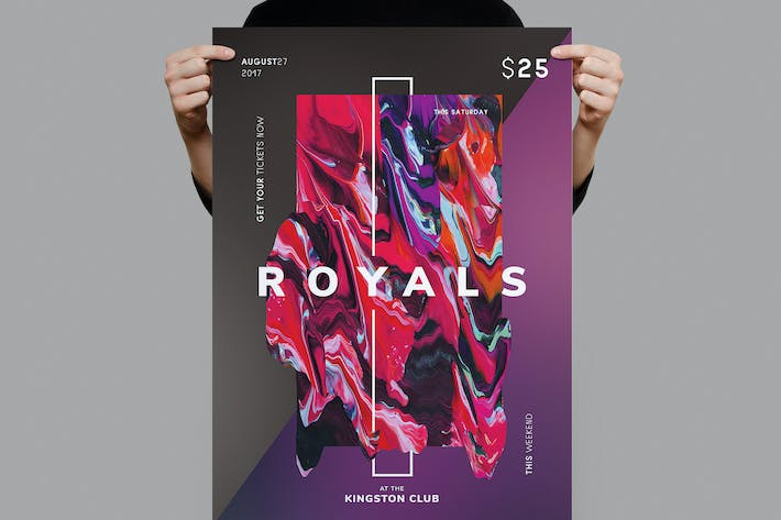 Thumbnail for Royals Flyer / Poster Template