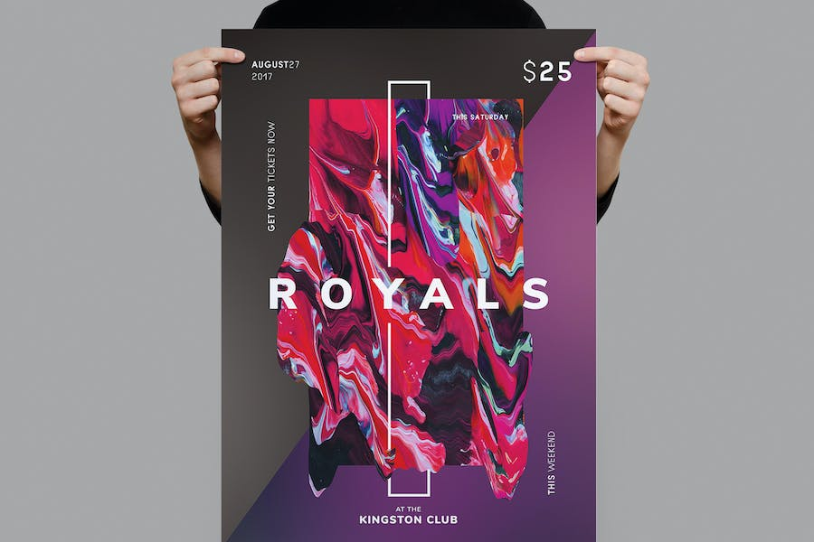 Royals Flyer / Poster Template