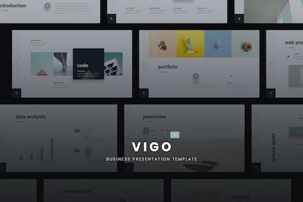 VIGO - Minimal GoogleSldes Template (PPTX)