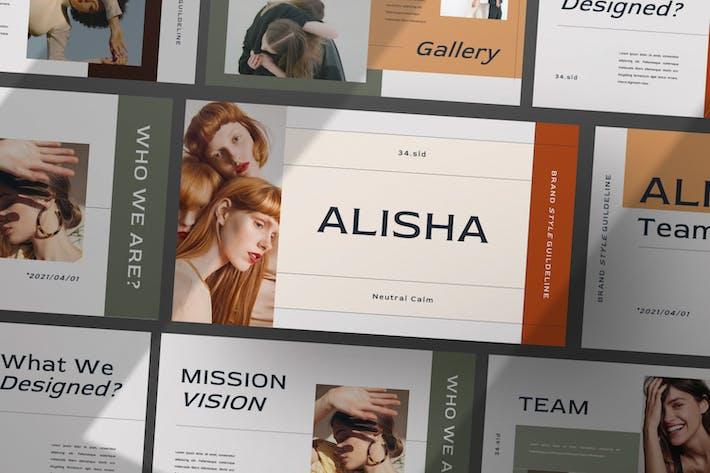 Alisha Brand Template