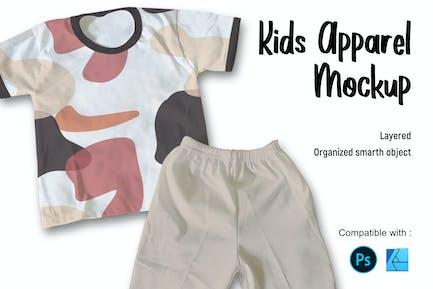 Kids Apparel | Mockup