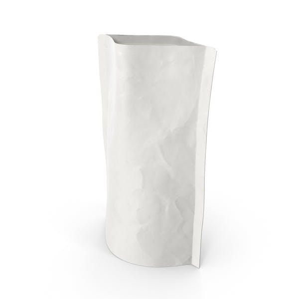 Thumbnail for Stand Up - Bolsa con cremallera (100 g), color blanco