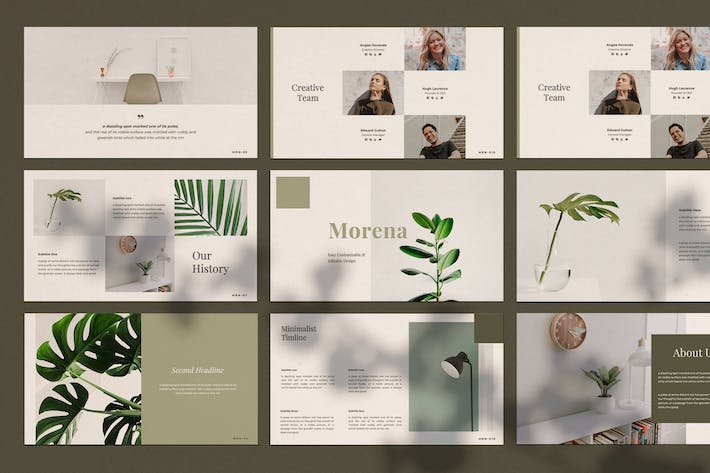 Cover Image For Morena - Keynote Template