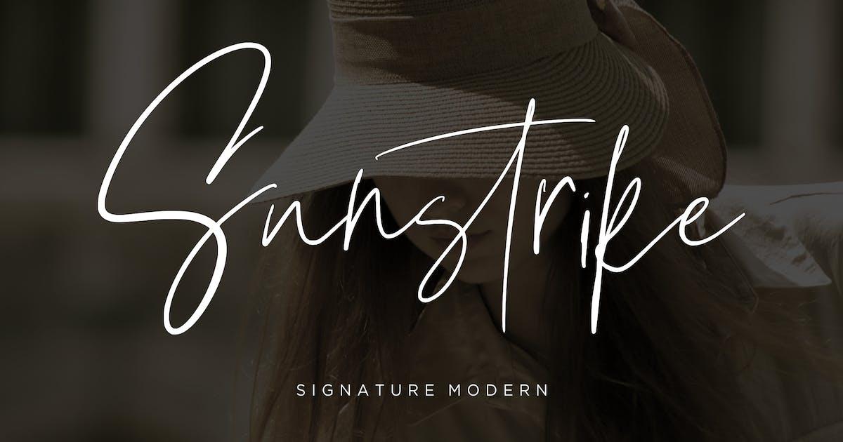 Download Suntrike Signature Modern by RahardiCreative