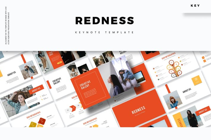 Redness - Keynote Template