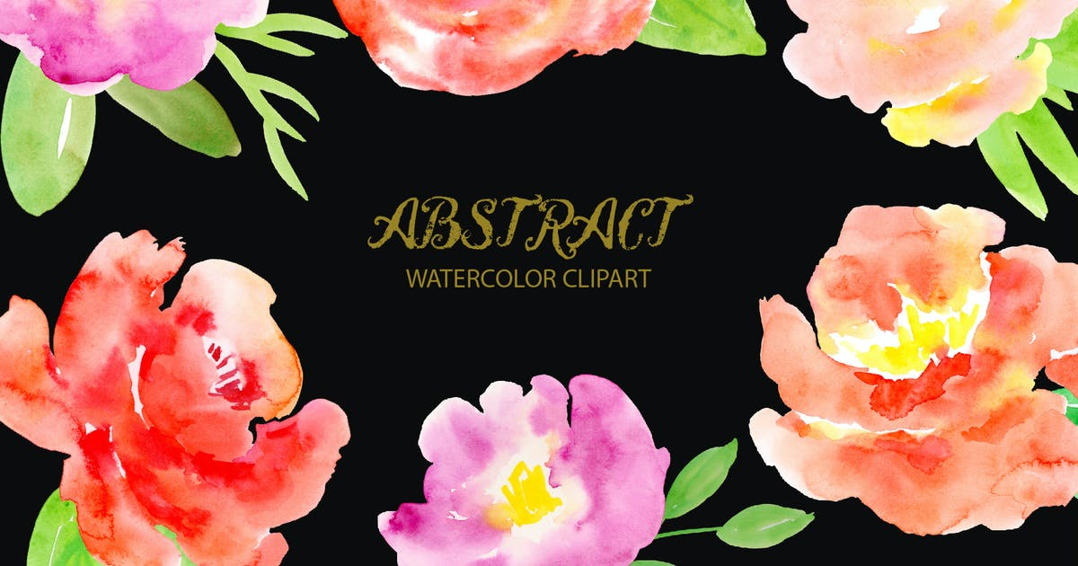 Download Watercolor Clipart Abstract by cornercroft