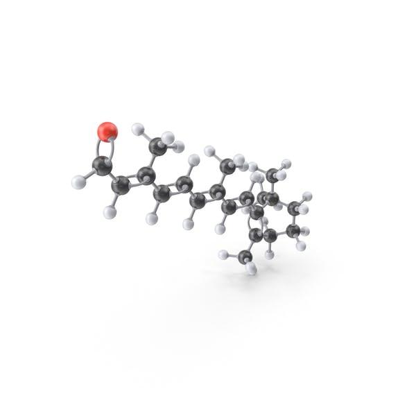 Vitamin A Molecule