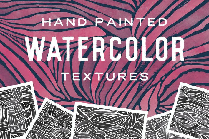 Thumbnail for Hand Painted Watercolor Textures