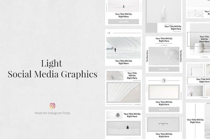 Thumbnail for Light Instagram Posts