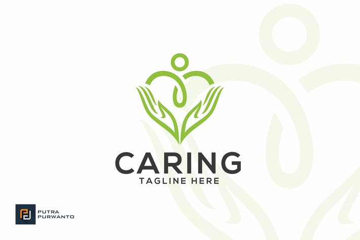 Thumbnail for Caring - Logo Template