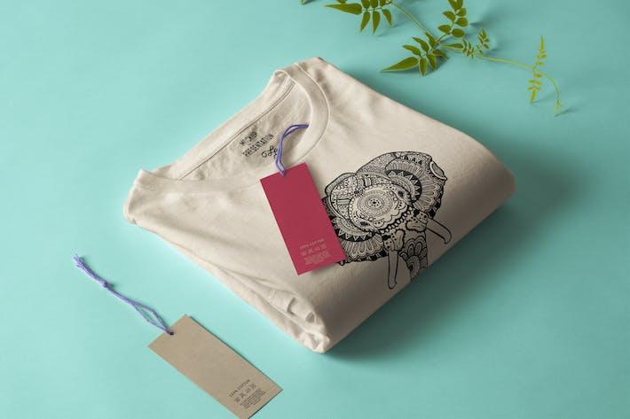 Thumbnail for Elephant Mandala T-shirt Design Illustration