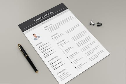 Resume and Letter Docx Office