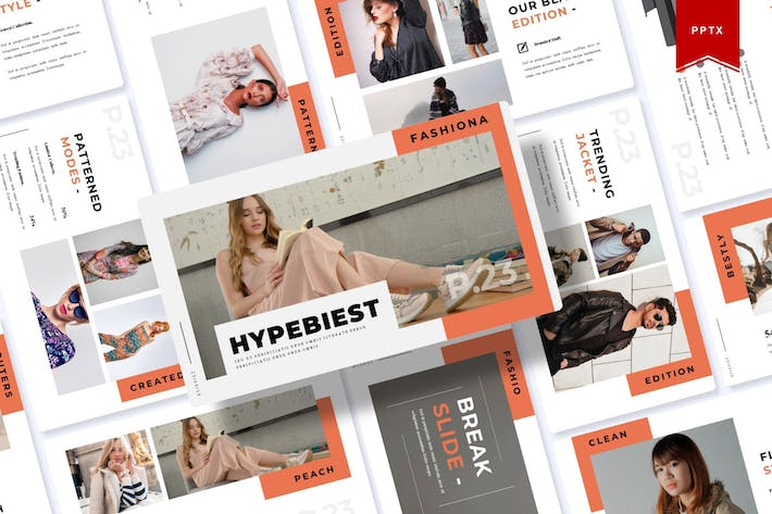 Thumbnail for Hypebiest | Powerpoint Template