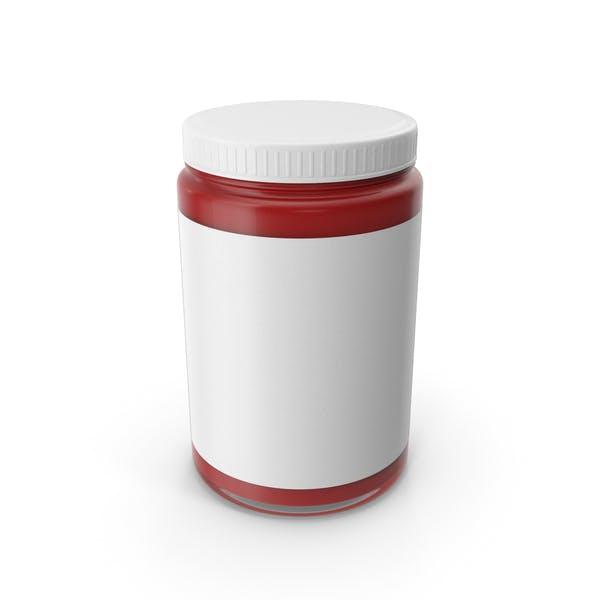 Souce Jar Red