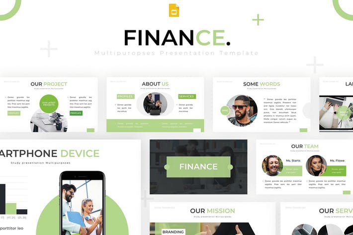 Thumbnail for Finance - Google Slides Template