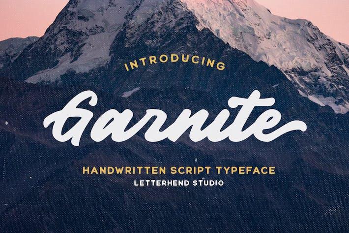 Thumbnail for Garnite - Handwritten Script