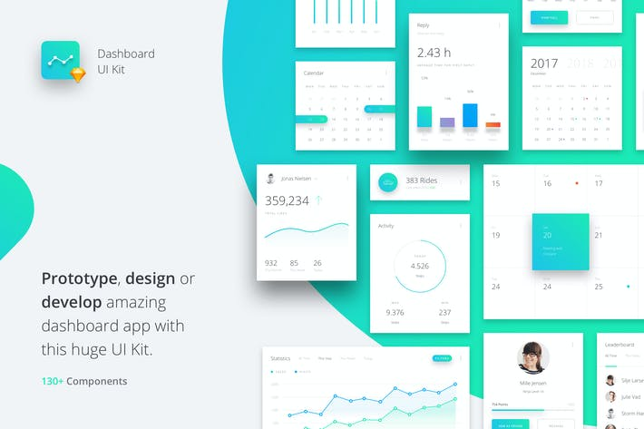 Thumbnail for Datta - Dashboard UI Kit