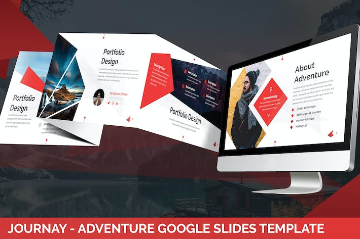 Cover Image For Journay - Adventure Google Slides Template
