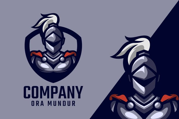 Thumbnail for Knight Logo Mascot