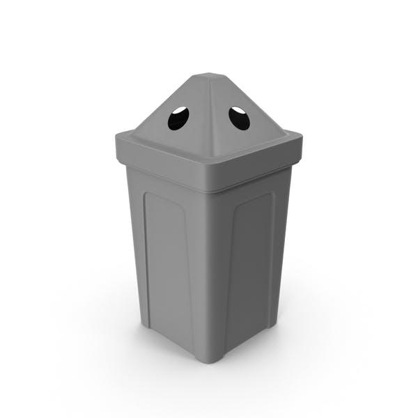 Thumbnail for Gray Recycle Bin