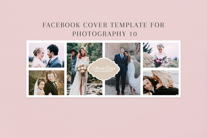 Thumbnail for Facebook Cover Template for Fashion Photography 09