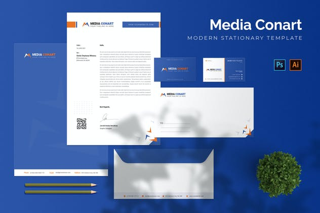 Media Conart - Stationary